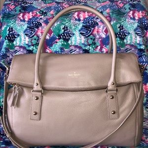 NWT Authentic Kate Spade Leather Travel Leslie Bag